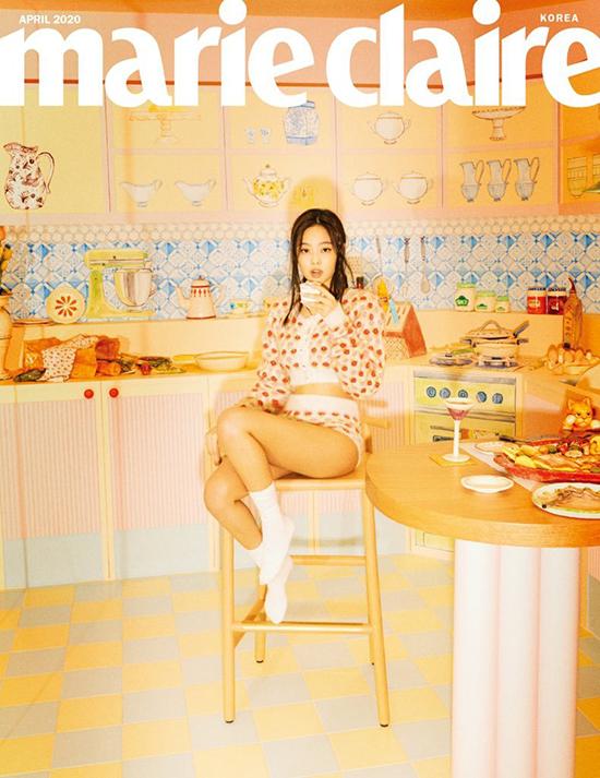 Jennie Kim - Marie Claire Magazine Cover [South Korea] (April 2020) G Monster