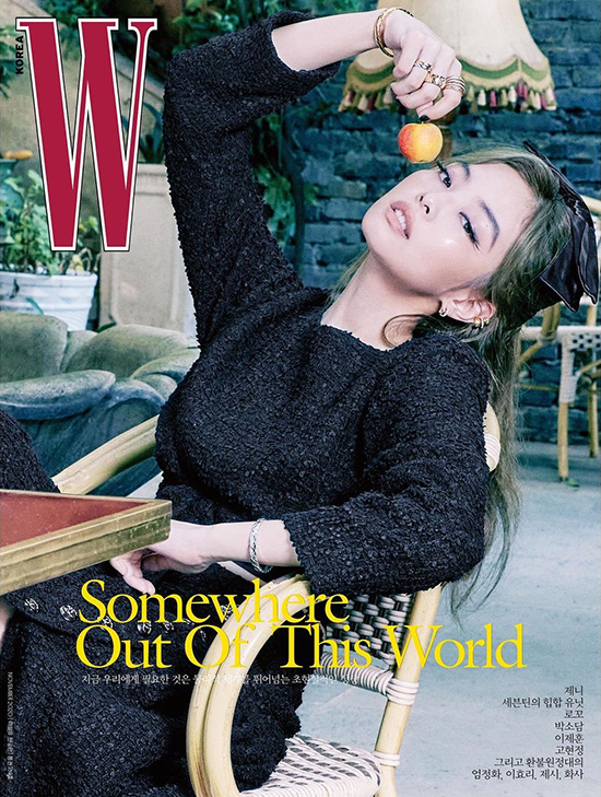 Jennie Kim - W Magazine Cover [South Korea] (Nov 2020) Chanel Coco Rush  <W Korea> giới thiệu ba trang bìa của ấn phẩm tháng 11 với sự góp mặt của Jennie.