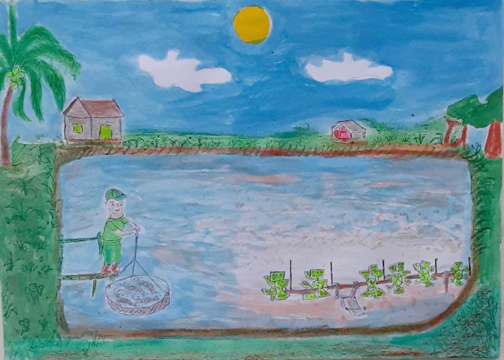 Cơ hội nhận 5 giải thưởng tuần cuối Cả nhà cùng vẽ ước mơ