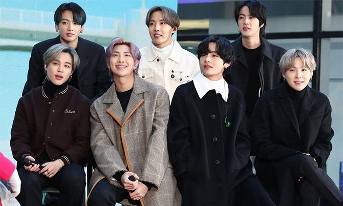 Nhóm nhạc BTS hiện là con gà đẻ trứng vàng của công ty giải trí Big Hit. Ảnh: Bloomberg.