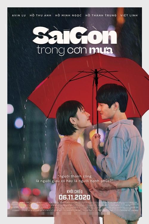 Poster phim Sài Gòn trong cơn mưa.