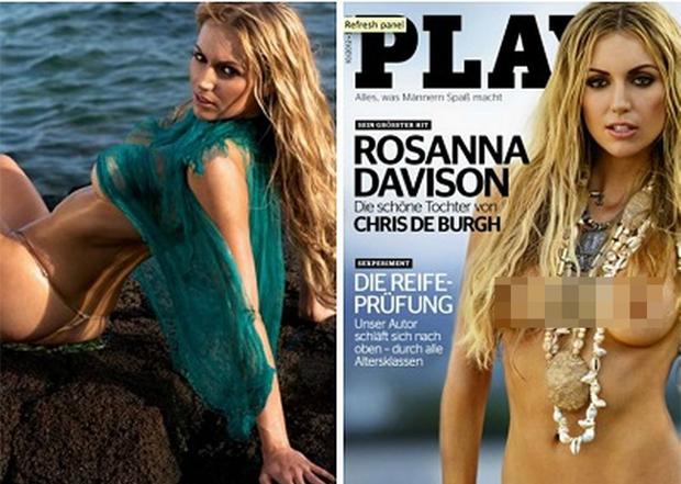 Người đẹp Rosanna Davison đăng quang Hoa hậu Thế giới Ireland năm 2003. Cô cũng nổi tiếng vì có bố là ca sĩ Chris De Burgh. Năm 2012, Rosanna gây xôn xao khi chụp ảnh khỏa thân cho tạp chí Playboy phiên bản Đức.