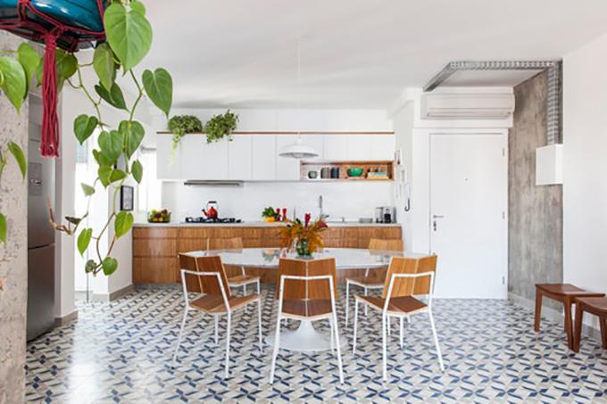 Căn hộ có diện tích 90 m2, tại Pinheiros, Brazil được cải tạo vào năm 2018 bởi nhóm kiến trúc sư (KTS) của Ina Arquitetura.