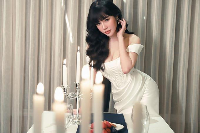 Diễn viên Elly Trần.