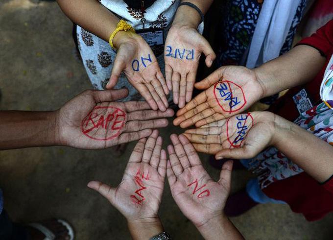 Các vụ biểu tình phản đối nạn cưỡng hiếp diễn ra thường xuyên tại Ấn Độ. Ảnh: AFP.