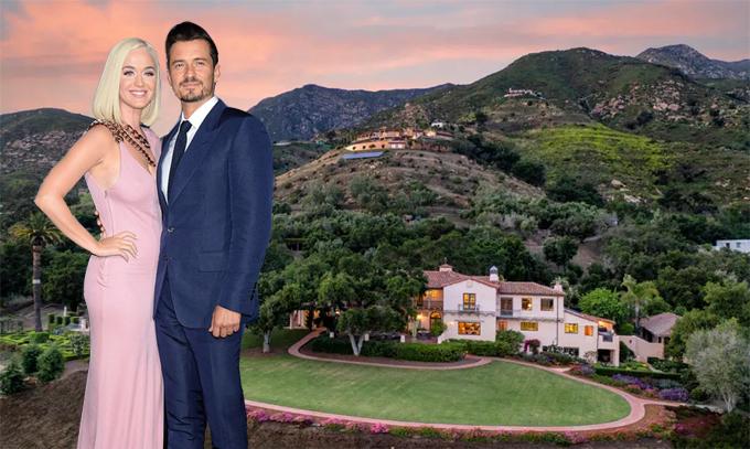 Nhà mới của Katy Perry và Orlando Bloom nằm dựa lưng vào đồi và nhìn ra Thái Bình Dương. Doanh nhân giàu có C. Robert Kidder sống tại villa này suốt 20 năm trước khi rao bán vào đầu năm ngoái với giá 20 triệu USD. Katy cùng hôn phu đã thương lượng được mức giá 14,2 triệu USD (gần 330 tỷ đồng).