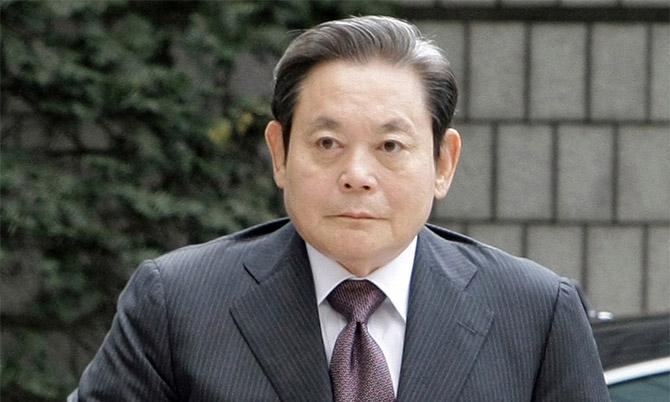 Cố chủ tịch Samsung Lee Kun-hee. Ảnh: Samsung.