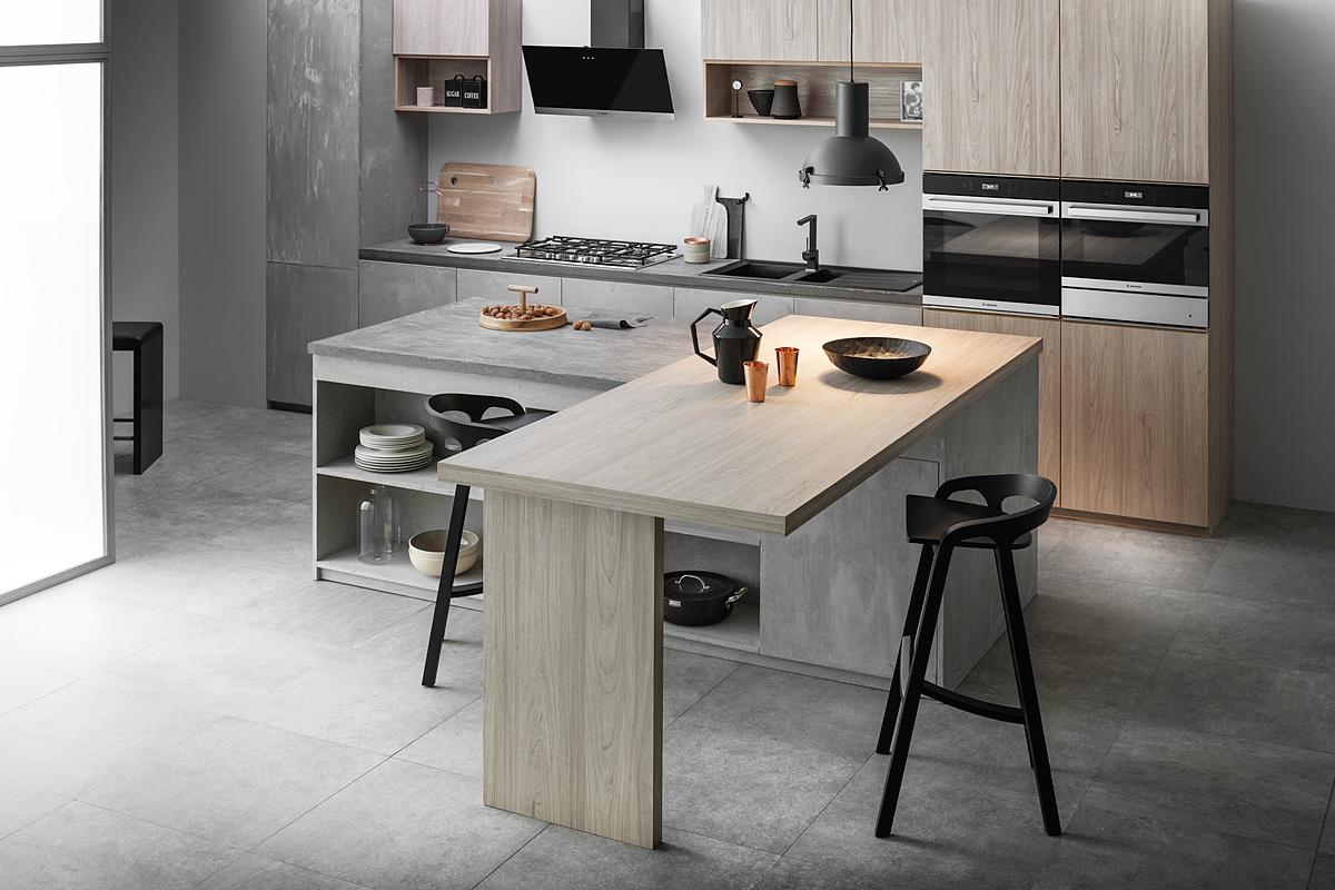Đến với Cooking Show, khách hàng có cơ hội tham quan không gian bếp và thiết bị gia dụng đẳng cấp Italy.