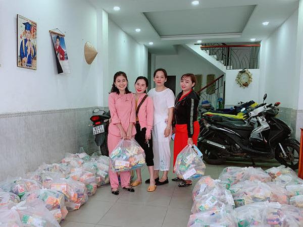 Các thành viên Hải Âu Việt cũng tích cực trong hoạt động hướng tới cộng đồng. Ảnh: Hải Âu Việt.