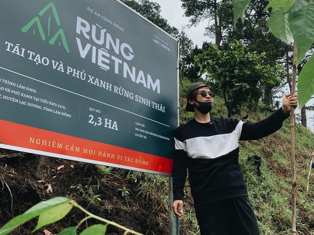 Hà Anh Tuấn hy vọng có thể tiếp tục phát triển dự án trong tương lai.