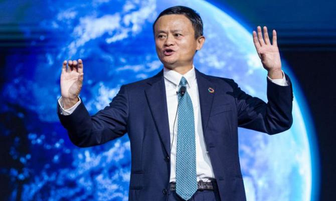 Jack Ma và Alibaba hiện nắm quyền kiểm soát Ant Group. Ảnh: AP.