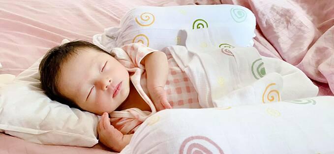 Ca sĩ Pha Lê khoe ảnh công chúa nhỏ đang say giấc.