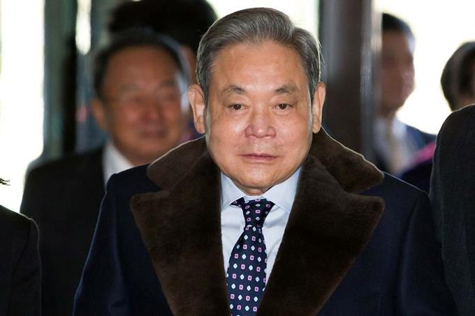 Cố chủ tịch Samsung Lee Kun-hee, người vừa qua đời vào cuối tuần trước. Ảnh: Bloomberg.