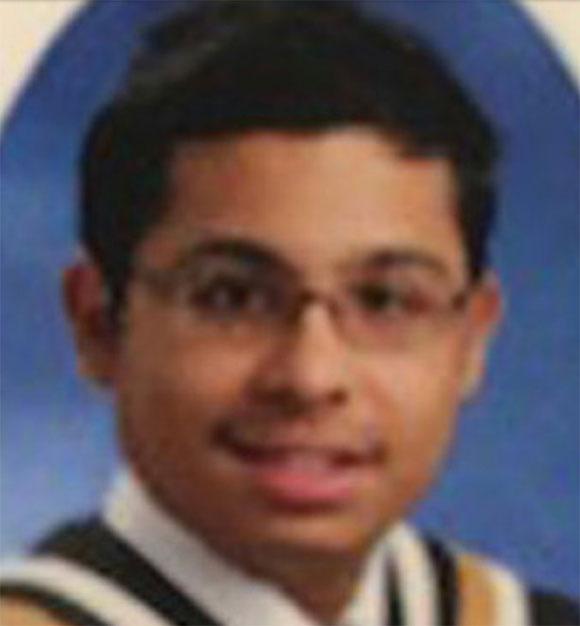 Menhaz Zaman - kẻ sát nhân giết cả nhà sau khi bỏ học. Ảnh: FB.
