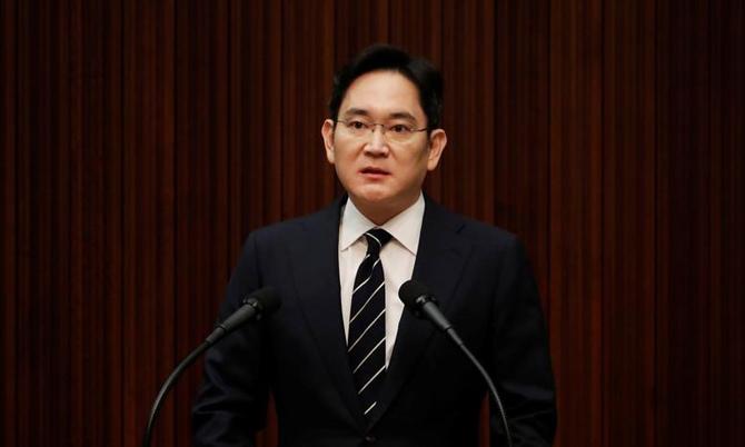 Ông Lee Jae-yong, con trai duy nhất của cố chủ tịch Samsung  Lee Kun-hee. Ảnh: AP.
