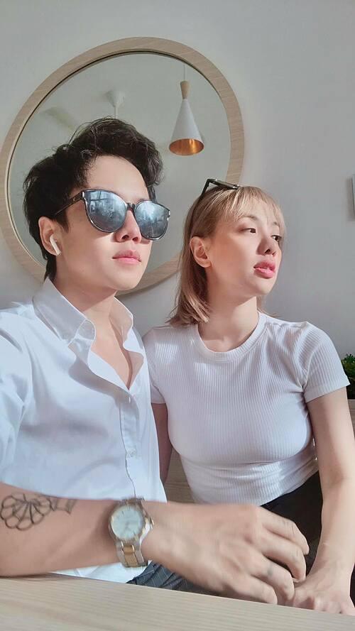 Bạn trai chuyển giới của Miko Lan Trinh cho rằng: Có tình yêu nhìn đâu cũng thấy màu hồng.