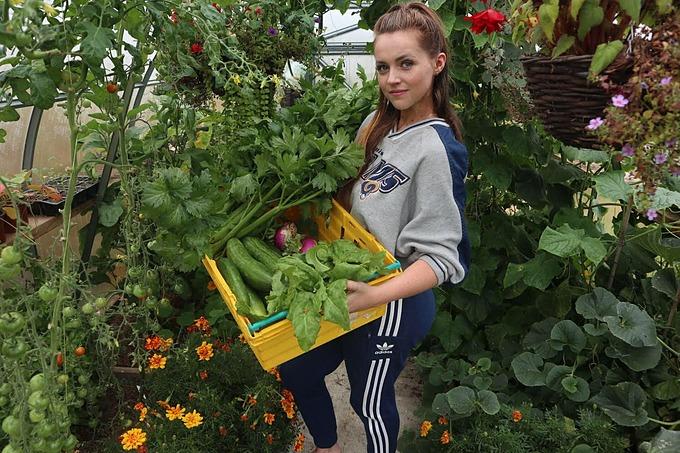 Chloe, 21 tuổi, sống ở Ireland, bắt đầu gây dựng khu vườn của mình cách đây hơn một năm sau một cú sốc tinh thần rất lớn.