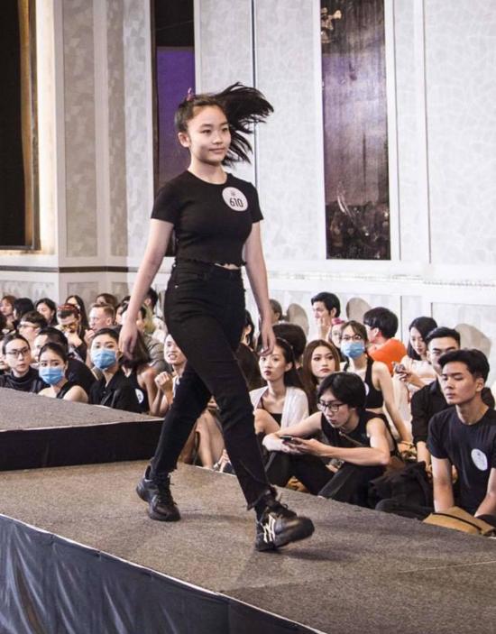 Nhiều em đã được đào tạo bài bản ở các trung tâm người mẫu và từng tham gia nhiều show diễn trước đó.