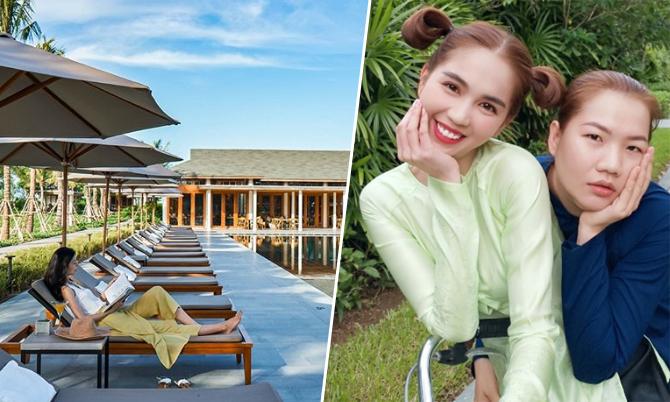 Resort Cần Thơ nơi Ngọc Trinh 'quẩy' cùng trợ lý Thúy Kiều