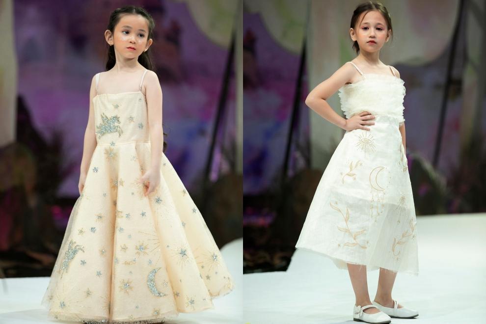 Các bé gái hoá thân thành công chúa ngọt ngào trong chuyện cổ tích.