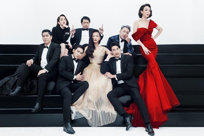 Dàn sao Tiệc trăng máu ăn mừng phim gia nhập CLB trăm tỷ của điện ảnh Việt.