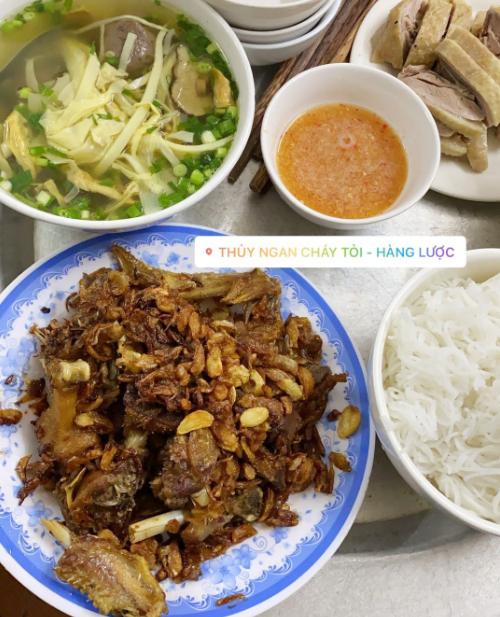 Yến Trang Yến Nhi ăn hơn 10 món Hà Nội, mê nhất bún chả và nộm - 6