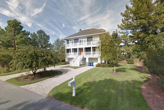 Căn nhà trị giá 2,7 triệu USD của vợ chồng Biden tại Delaware. Ảnh: Forbes.