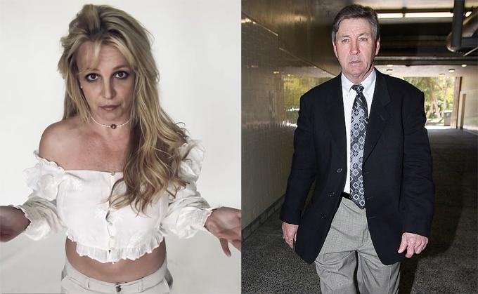 Britney Spears và bố.