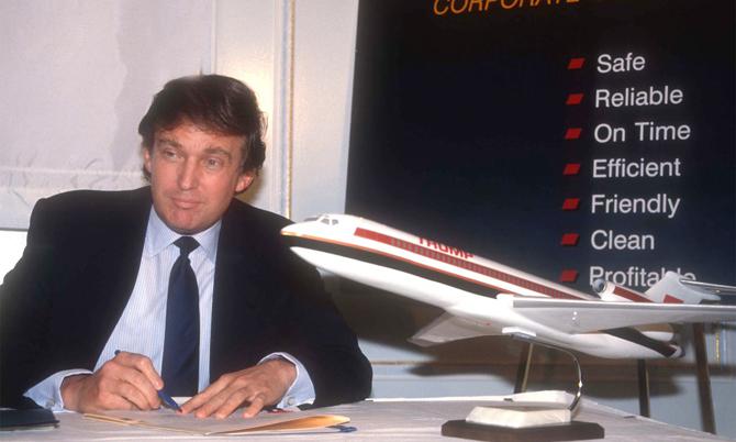 Donald Trump mua lại Eastern Air vào năm 1989. Ảnh: Airlines.
