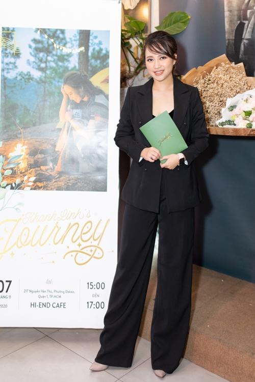Ca sĩ Khánh Linh giới thiệu album Khánh Linhs Journey.