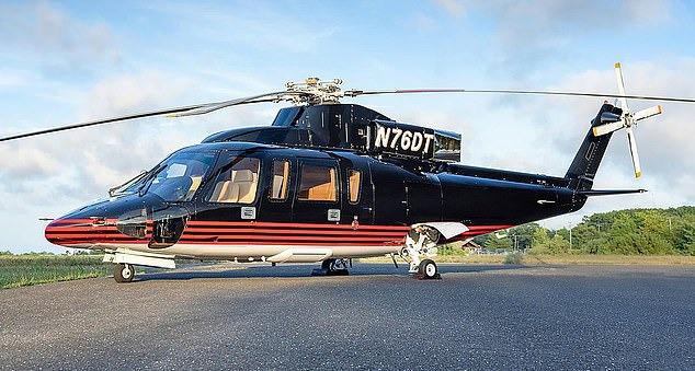 Chiếc trực thăng dòng Sikorsky S76-B của tổng thống Trump được rao bán trên Avbuyer. Ảnh: Avbuyer.