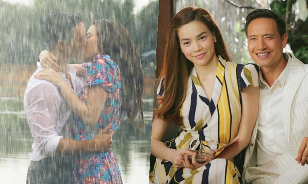 Có thể nói dự án Cả một trời thương nhớ như sợi dây se duyên cho chuyện tình của Hồ Ngọc Hà - Kim Lý. Trong MV, họ vào vai một cặp đôi yêu nhau và có cảnh quay hôn nhau dưới mưa đầy tình cảm. Dự án kết thúc, cả hai gắn bó thân thiết, thường xuyên xuất hiện cùng nhau và làm dấy lên tin đồn hẹn hò.