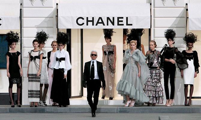 Một buổi trình diễn bộ sưu tập Xuân hè của Chanel tại Paris, Pháp năm 2018. Ảnh: AFP.