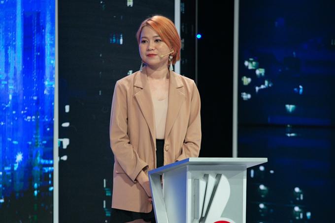 Ứng viên Ngô Thúy Phương Thanh trong chương trình Cơ hội cho ai.