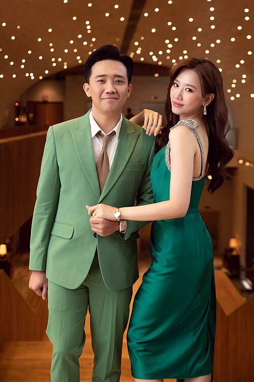 Vợ chồng Trấn Thành - Hari Won.