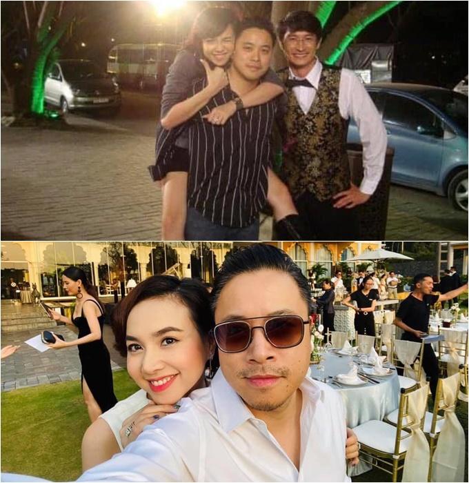 Diễn viên Đinh Ngọc Diệp hưởng ứng trend thay đổi theo thời gian bên ông xã Victor Vũ (2009-2020).