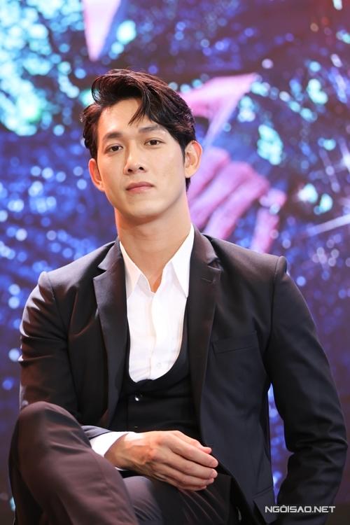 Ca sĩ - diễn viên Song Luân đóng vai nam chính của phim Thanh Sói.