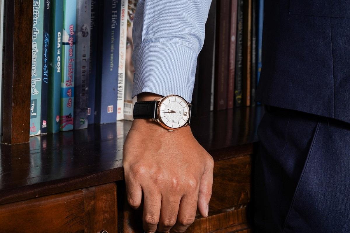 Chọn đồng hồ cho nam giới cần chú ý đến các yếu tố như phong cách, kích thước, chất liệu... để tôn vẻ đẹp cá tính và gu thẩm mỹ đẳng cấp. Ảnh: Galle Watch.