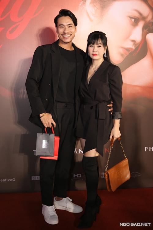 Vợ chồng diễn viên Cát Phượng - Kiều Minh Tuấn.