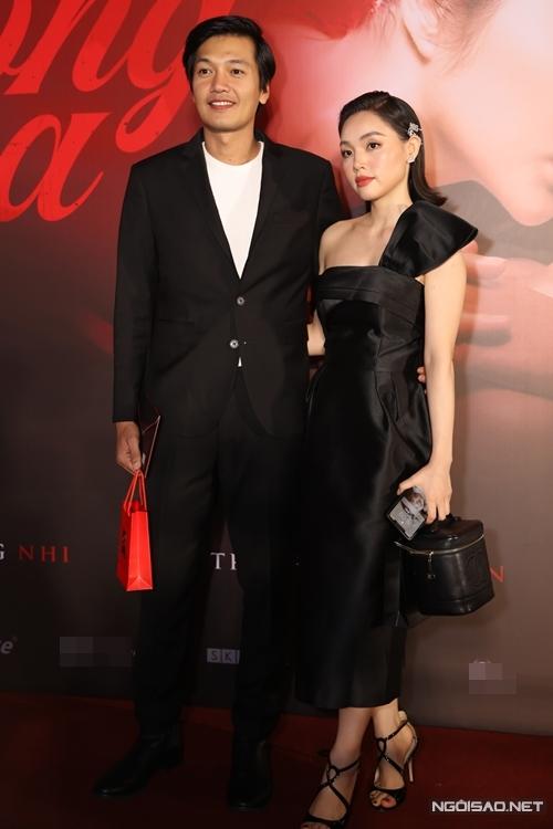 Vợ chồng ca sĩ Linh Phi - diễn viên Quang Tuấn.