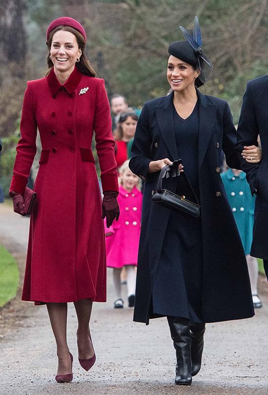 Kate Giáng sinh 2018 ở Norfolk