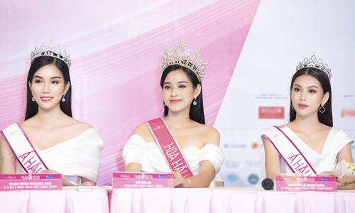 Top 3 Hoa hậu Việt Nam 2020 giới thiệu bằng tiếng Anh