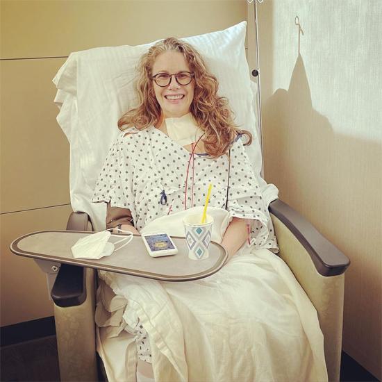 Melissa Gilbert đang phục hồi sau ca phẫu thuật.