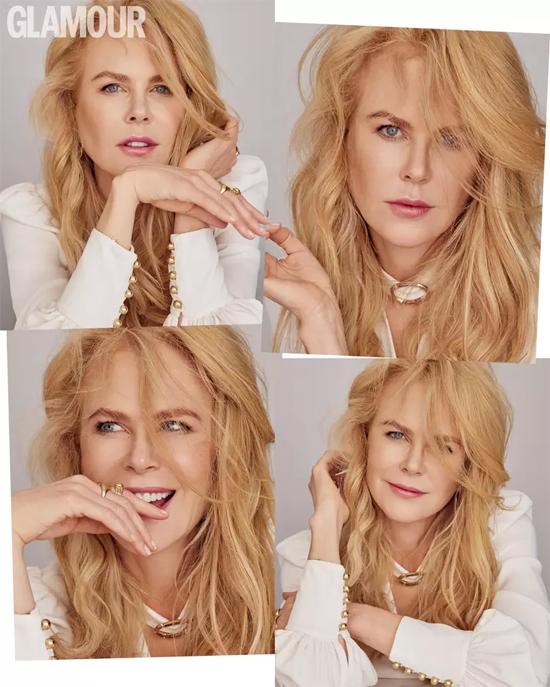 Nicole Kidman trên tạp chí Glamour.