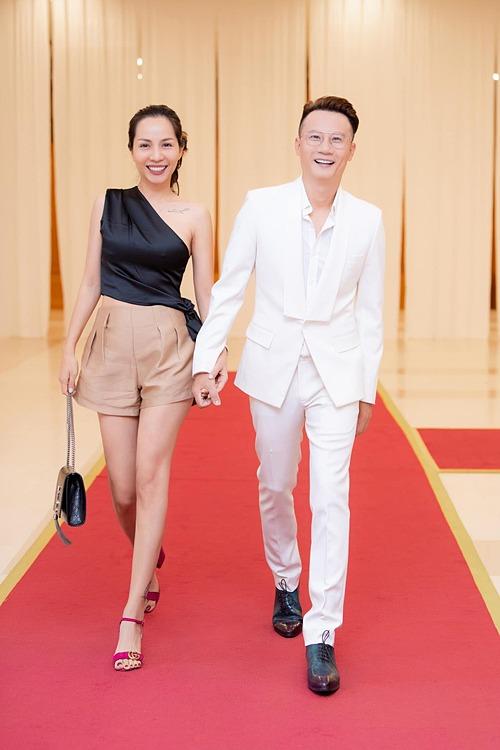 Thanh Thảo cùng ông xã Hoàng Bách dự sự kiện.