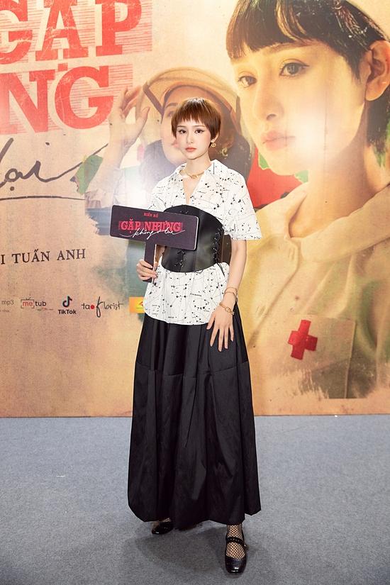 Hiền Hồ diện set đồ đắt tiền của thương hiệu Dior tại event.