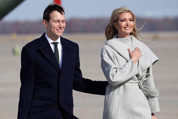 Vợ chồng Ivanka Trump không còn được chào đón ở New York. Ảnh: AP.