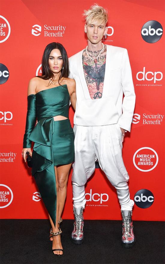 Megan và bạn trai mới tại lễ trao giải American Music Awards cuối tuần qua.