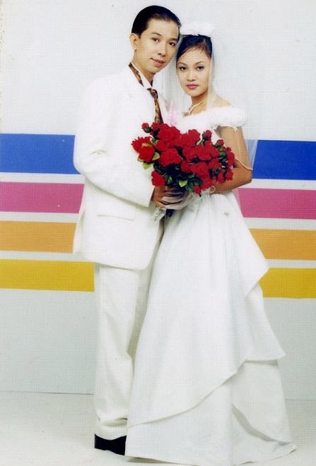 Ảnh cưới của vợ chồng Long Nhật.