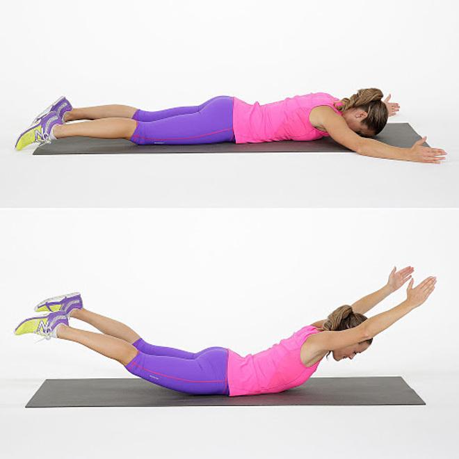 3 bài tập đơn giản giúp giảm mỡ thừa vùng lưng và nách - 4